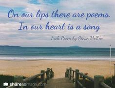 """""""On our lips there are poems. In our heart is a song. Inspirational Poetry Quotes, How To Start A Blog, How To Get, Friend Poems, Blog Tips, Love Life, Get Started, Trek, Wise Words"""
