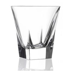 Lorren Home Trends RCR Fusion Crystal Double Old Fashioned (Set of 6)