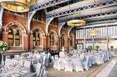 10 Quirky Wedding Venues; St. Pancras Renaissance Hotel, London