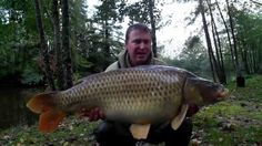 Here's Matt on a 4-day session in October fishing with a snowman variation of his standard big carp rig which caught a brace of commons and 2 mirrors.  www.frenchcarpandcats.com