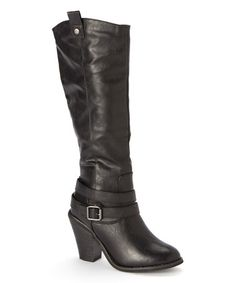 Another great find on #zulily! Black Ester Boot #zulilyfinds