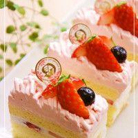 Strawberry☆Mont Blanc Shortcake⁂