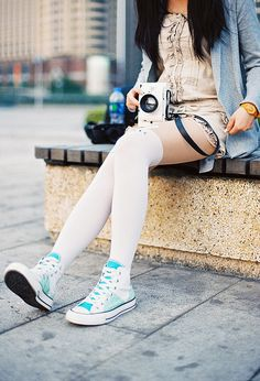 Fashion tips about wearing sneakers - Sneakers are one of the leading trends and this season you can wear them as everyday styling and in your evening...
