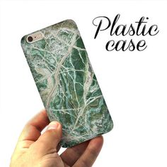 Green MARBLE CASE, iPhone 6 case, iPhone 6 marble case, iPhone 5S case, iPad case, marble, iPhone SE case, iPhone case, Phone marble case