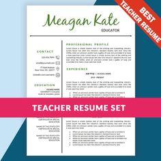 teacher resume template teaching resume cover letter template educator resume template word from