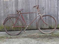 Wheeling, Wander, Bicycle, Barn, Vintage, Unicycle, Bicycles, Accessories, German