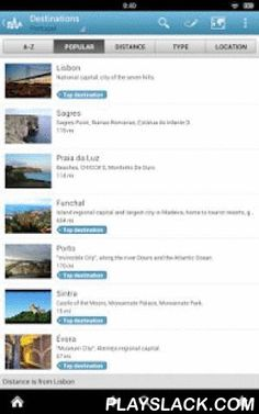 Portugal Guide By Triposo  Android App - playslack.com , Features of Triposo's guide to Portugal:★ Suggestions of what's interesting to see and do in Portugal, depending on time, weather and your location;★ A detailed sights section with all the monuments of Lisbon, Porto, Sintra, Funchal;★ Eating out section with the best restaurants in Lisbon, Porto, Sintra, Funchal;★ Discover the nightlife of Portugal! Bars, pubs & disco's in Lisbon, Porto, Sintra, Funchal;★ Book hotels in Portugal…