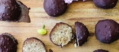 Chocolate Coated Date & Coconut Energy Balls