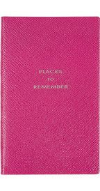 SmythsonPlaces To Remember textured-leather notebook