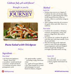 Pasta Salad with Chickpeas