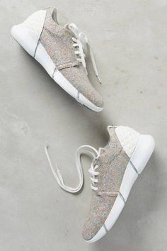 Calu Shimmered Sneakers by Elena Iachi