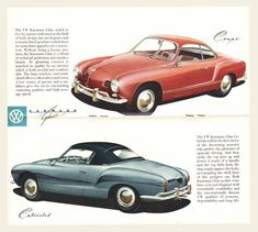 """""""Mad-good looking little car, and then there's that gorgeous rendering on the illustrations. Volkswagen Bus, Volkswagen Karmann Ghia, Vw Camper, Bmw E30 M3, Ferdinand Porsche, T3 Doka, Vw Eos, Automobile, Beetle Convertible"""