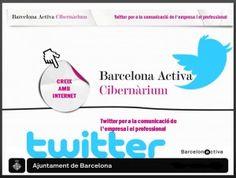 Twitter en la comunicación de empresa y en la del profesional  Cibernarium | La entrada es *** gratuita *** y el aforo es MUY limitado