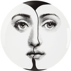 FORNASETTI double face plate
