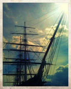 the infamous Cutty Sark it now has had a complete refurbish. Greenwich London, Local History, Home And Away, Connecticut, Travel Usa, Genealogy, Places Ive Been, Shark, The Neighbourhood