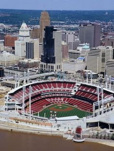 Great American Ball Park...haven't gone inside yet, but just hanging out around the park was super fun!