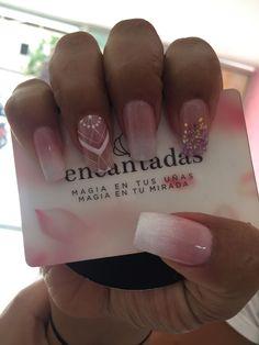 Sexy Nails, Glam Nails, Manicure And Pedicure, Glitter Nails, Neutral Nails, Nail Designs Spring, Bridal Nails, Nail Decorations, White Nails
