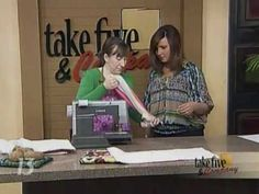 """Jennifer Ackerman-Haywood of http://craftsanity.com appeared on WZZM's """"Take 5 & Company"""" to show how make a microwave potato bag."""