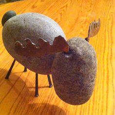 Rock Art - Rock Moose