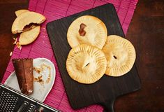 Pati Jinich » Flaky Round Empanadas with Piloncillo