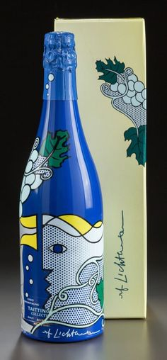 Bouteille de Champagne Taittinger (1985)