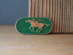 Soviet Pin RIDER / Soviet Badge / Sports / USSR 80's by EUvintage