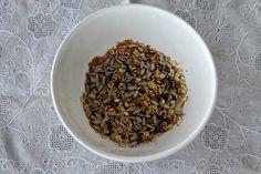 5 Min Oatmeal Fruit Breakfast prep 1 Oatmeal With Fruit, How To Dry Basil, Herbs, Breakfast, Recipes, Food, Breakfast Cafe, Rezepte, Essen