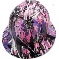 Best custom hydrographic hydro dipped badass hard hats on the market Purple Camo, Hard Hats, Bad To The Bone, Cover Design, American Flag, Captain America, Girly, Pure Products, Stylish