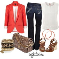 """It's All in the Accessories"" by angkclaxton on Polyvore like it but not the purse"
