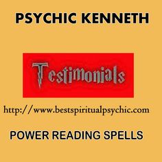 Spiritual Psychic Healer Kenneth consultancy and readings performed confidential for answers, directions, guidance, advice and support. Please Call, WhatsApp. Are Psychics Real, Best Psychics, Spiritual Healer, Spirituality, Medium Readings, Love Psychic, Bring Back Lost Lover, Online Psychic, Love Spell Caster