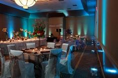 Wedding Reception Lighting Design.