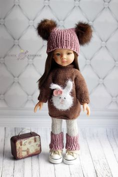 Crochet baby girl shoes doll clothes Ideas for 2019 Knitting Dolls Clothes, Crochet Doll Clothes, Knitted Dolls, Doll Clothes Patterns, Barbie Kids, Crochet Scarf Easy, Crochet Dolls Free Patterns, Gotz Dolls, American Girl Clothes