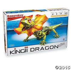 kingii dragon robot instructions