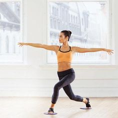 Ballet-Inspired Moves | Curtsy Lunge: Works inner and outer thighs