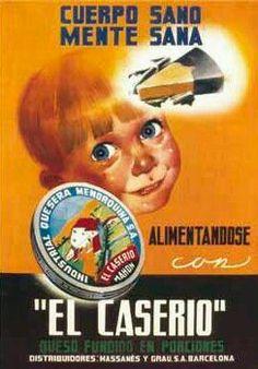 El Caserio, Cuerpo sano mente sana Vintage Tin Signs, Vintage Labels, Vintage Ads, Old Posters, Vintage Posters, Retro Posters, Poster Ads, Advertising Poster, Retro Ads