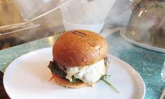 Le burger qui fume de B.A.B