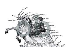 Ilustração da capa de um conto da autoria de Ana Barrelas