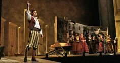 "Rossini's opera ""The Barber of Seville"" has many disguises and costume changes in its comedic acts. Have you ever seen it live? (Photo: Ken Howard/Metropolitan Opera)"
