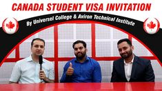 Canada-Quebec Student Visa Invitation by Aviron & Universel College Work Visa, Best University, Education System, How To Apply, Canada, College, Student, Invitations, Rowing