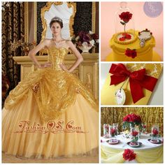 Beauty and the Beast Theme Ideas | Quinceanera Ideas |