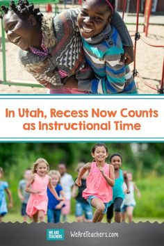 In Utah, Recess Now Counts as Instructional Time Gross Motor Activities, Infant Activities, Preschool Activities, Social Emotional Learning, Social Skills, Elementary Schools, Elementary Teaching, Changing Jobs, School Days