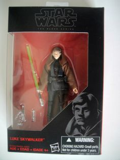 """NEW IN FACTORY SEALED PACKAGESTAR WARS THE BLACK SERIES LUKE SKYWALKERBY: HASBORO3.75"""" PAYMENT DUE AT TIME OF PURCHASE.*CONTACT WITHIN 72 HOURS 3 DAYS... #action #figure #sealed #series #black #wars #luke #skywalker #star"""