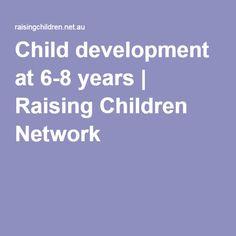 Child development at 6-8 years   Raising Children Network