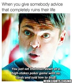 #meme #casino #gambling #poker #highstakes #bluff #startrek #jim #bones #imadoctor #life