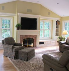 This is a great family room addition! The natural sunlight brightens up the room as well! #roomaddition #space    www.sandiegoroomadditions.net