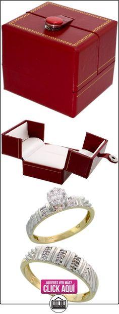 Revoni - Anillo de compromiso de oro amarillo  ✿ Joyas para hombres especiales - lujo ✿ ▬► Ver oferta: http://comprar.io/goto/B005M3D6OM