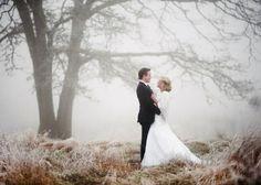 Sprookjesachtige winter bruiloft {koud maar prachtig!}