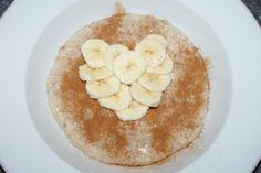 Havregrøt med kanel og bananhjerte « Berit Nordstrand