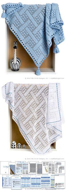 Dream Catcher | Crochet Blanket/Throw for Baby Boys Girls Adult | My Little CityGirl