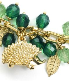 Woodlands bracelet by Jane Konkel, from the November 2013 issue of Bead Style.